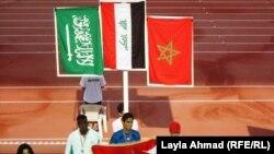 محمد حسن يتوج بالذهب لسباق 200 متر عدو