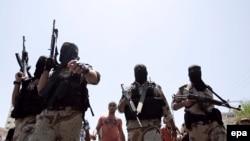 Палестински војници.