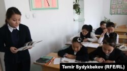 Одна из школ Бишкека. Иллюстративное фото.