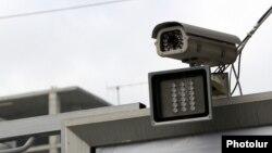 Տեսախցիկ Երևանի փողոցներից մեկում, արխիվ