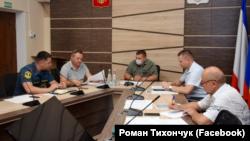 Засідання комісії з попередження і ліквідації надзвичайної ситуації в Євпаторії 15 липня 2021 року