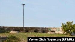 Бывшая мортирная батарея №7 на Северной стороне Севастополя