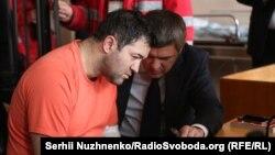 Роман Насіров під час засідання суду. 6 березня 2017 року