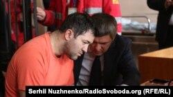 Роман Насіров під час засідання суду, 6 березня 2017 року