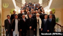 Afghanistan -- President Karzai met with Presidential candidates a Gulkhana palace, Afghan candidates, 06 January 2014