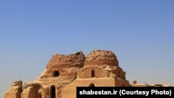 A photo made available by UNESCO shows Sarvestan in the Sassanid Archaeological Landscape of Fars region, Iran.