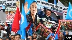 Протест на Ујгурите
