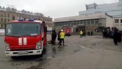 Последствия взрыва в метро Санкт-Петербурга