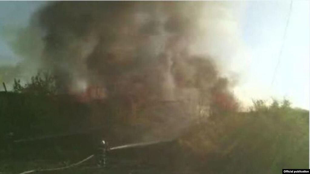 Вспыхнувший в аэропорту «Эребуни» пожар локализован - МЧС