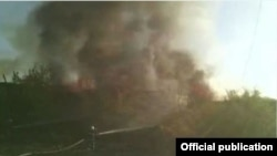 Пожар в аэропорту «Эребуни», Ереван, 4 ноября 2019 г.