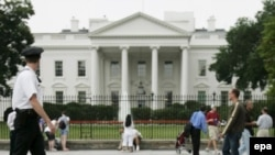 Ақ үй - АҚШ президентінің резиденциясы. Вашингтон.