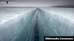 Antarctica, Larsen C-dən qopan aysberq, uzunluğu 175 km
