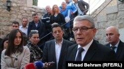 """Džaferović je kazao uz ostalo kako nije dobro dolaziti i davati podršku """"samo jednoj grupi, samo jednom narodu"""""""