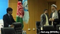 محمد کریم خلیلی رئیس شورای عالی صلح افغانستان