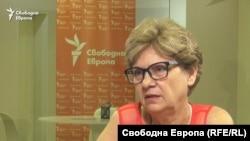 Виолета Комитова, служебен министър на регионалното развитие и благоустройството