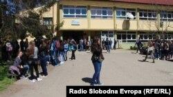 Архивска фотографија: Средното медицинско училиште во Битола