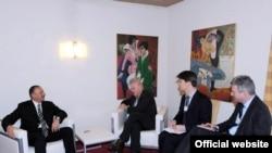 Ильхам Алиев дает интервью газете The Wall Street Journal, Давос, 27 января 2010 года