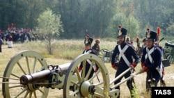 Историческая реконструкция Бородинской битвы, приуроченная к 190-годовщине