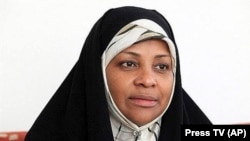 Press TV news anchor Marzieh Hashemi (file photo)