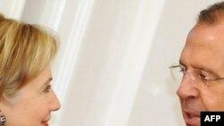 Hillari Klinton və Sergey Lavrov Moskvada görüşürlər, 13 oktyabr 2009