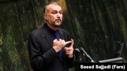 Iranian Foreign Minister Hossein Amir-Abdollahian (file photo)