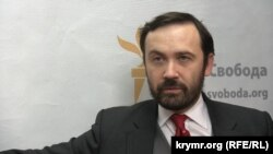 Ukraine, Crimea - Russian politician Ilya Ponomarev, 25Feb2015
