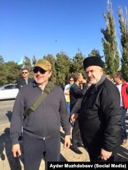 Ленур Ислямов и Рефат Чубаров