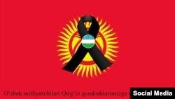 Өзбекстандыктар интернетке жарыялаган сүрөт.