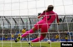 Чэмпіянат сьвету па жаночым футболе ў Францыі. Бразылія – Ямайка