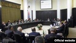 Հայաստանի կառավարության նիստը, արխիվային լուսանկար