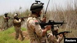 قوات عراقية في محيط الفلوجة