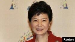 Presidentja e Koresë së Jugut, Park Geun-Hye.