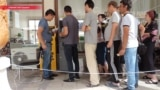 На ташкентских рынках заработали первые банкоматы Узбекистана