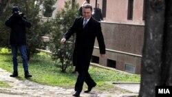 Ish-kryeministri i Maqedonisë, Nikolla Gruevski. Foto nga arkivi.