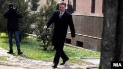 """Архивска фотографија: Поранешниот премиер Никола Груевски на судење за случајот """"Тенк"""""""