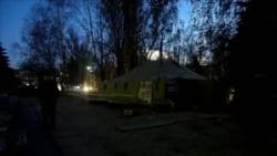 Чорнобильці у Донецьку не збираються припиняти мітинг
