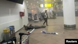 Фурудгоҳи Брюссел баъди ҳамлаи террористӣ
