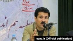 Iranian parliament member, Abdolkarim Hosseinzadeh, undated.