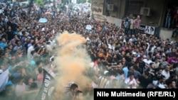 """Демонстранты у посольства США в Каире протестуют против фильма """"Невинность мусульман"""""""