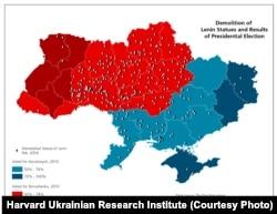 """""""Ленинопад"""" и результаты выборов президента в 2010 году"""