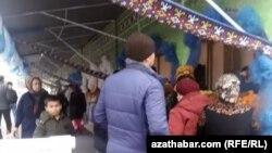 "Рынок ""Дженнет"" (Рай), Ашхабад"
