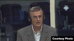 Ekrem Suljević svjedoči u postupku protiv Radovana Karadžića, 23 jul 2010