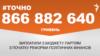 Майже 900 мільйонів гривень виплатили партіям від початку державного фінансування – #Точно