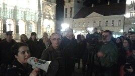 Protest novinara u Novom Sadu