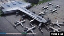 Проект нового международного пассажирского терминала аэропорта г. Ташкента (Ташкент-4)».
