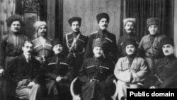 Кавказская делегация в Париже. 1920 г.