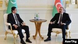 İlham Əliyev və Gurbanguly Berdymukhammedov