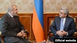 Ֆիլիպ Լեֆոր, Սերժ Սարգսյան