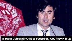 حنیف دانشیار سخنگوی وزارت مبارزه با مواد مخدر افغانستان
