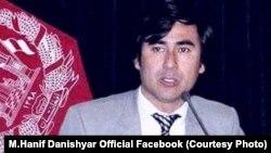 محمدحنیف دانشیار، عضو کمیسیون مستقل انتخابات